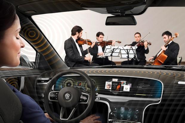 Cada parte do carro transmite melhor uma determinada frequência (Foto: Divulgação)