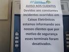 Caixas eletrônicos são desativados no Litoral e vira problema para turistas