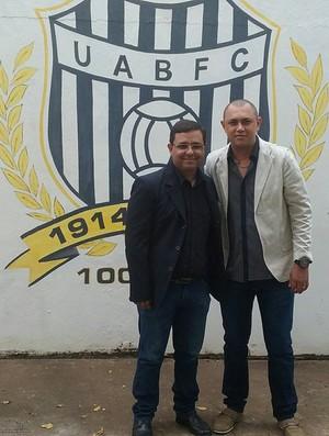 Jairo Araújo Presidente União Barbarense Leão da Treze (Foto: Arquivo Pessoal)
