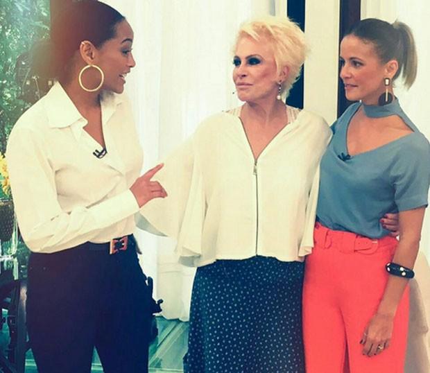 Taís Araújo, Ana Maria Braga e Fernanda de Freitas (Foto: Reprodução)