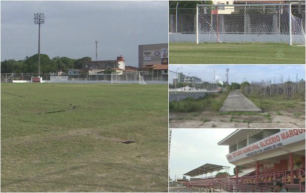 Estádio  Glicério Marques comemora 65 anos de criação (Foto: Bom Dia Amazônia)