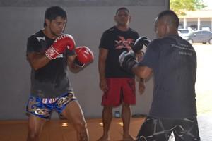 Lutador Thiago Trator já tem data para voltar a pisar no octógono pelo UFC (Foto: Rafael Moreira/GE-AP)