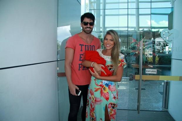 Rodrigão e Adriana (Foto: Thyago Andrade/ Brazil News)