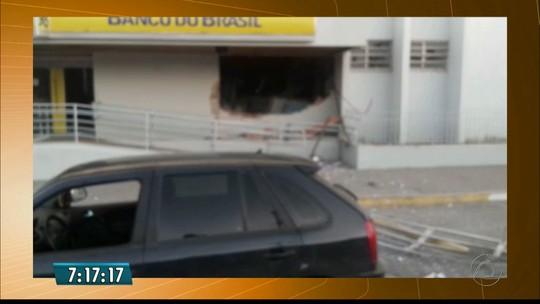 PM registra dois ataques a bancos na Paraíba; pessoas são feitas reféns