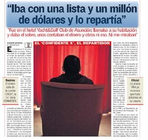 Confidente X jornal As (Foto: Reprodução)