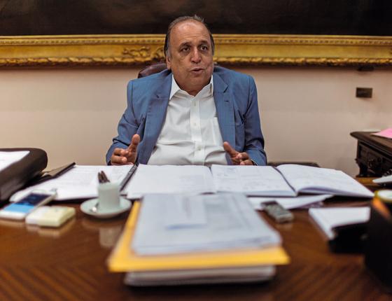 Luiz Fernando Pezão,governador do Rio de Janeiro (Foto: Ricardo Borges/Folhapress)