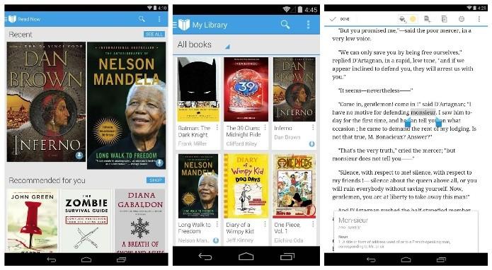 O leitor do Google possui intereface simples e fácil navegação (Foto: Divulgação)