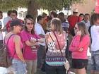 Grupo faz ato contra a violência e pela liberdade de opinião em Ponta Grossa