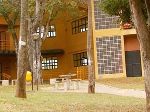 Alojamento da USP de São Carlos (Foto: Oscar Herculano Jr/ EPTV)