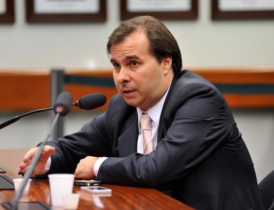 Rodrigo Maia (Foto: Zeca Ribeiro / Câmara dos Deputados)