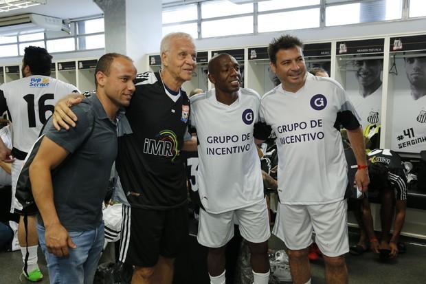 Ex-jogadores (Foto: Felipe Panfili/Divulgação)