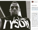 Que moral! Mike Tyson posta foto de Nate Diaz e homenageia lutador do UFC