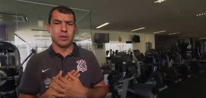 Carille diz que se considera um dos melhores do Brasil (Foto: Reprodução SporTV)