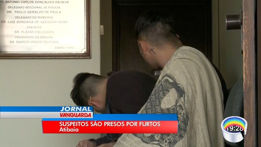 Quadrilha de SP é presa por furto de casas em Atibaia; veja vídeo