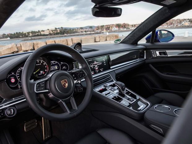 Teste: Porsche Panamera Turbo S E-Hybrid Sport Turismo (Foto: Divulgação)