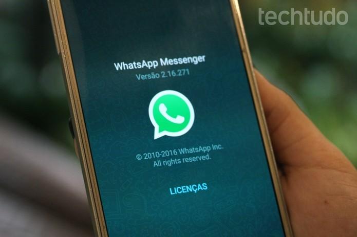 Veja como fazer chamadas de vídeo no WhatsApp pelo Android (Foto: Carolina Ochsendorf/TechTudo)