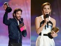 Bradley Cooper e Emma Watson recebem prêmios no MTV Movie Awards 2013