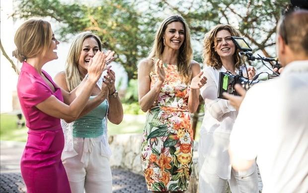 Adriana Esteves, Suzana Vieira, Fernanda Lima e Patricia Pillar participaram (Foto: Globo/Aline Massuca)
