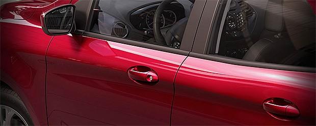 Ford Ka+ é revelado em imagens vazadas (Foto: Reprodução)