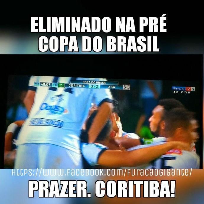 Meme Atlético-PR Coritiba (Foto: Divulgação)