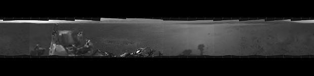 Curiosity panorama Marte (Foto: Nasa/JPL-Caltech)