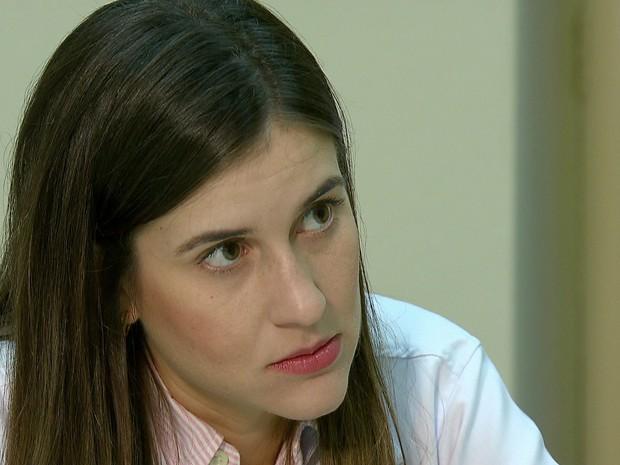 Camila Ventura coordena pesquisa sobre infecção congênita por zika (Foto: Reprodução/TV Globo)