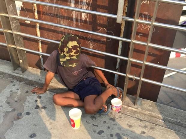 Tailândia quer tirar mendigos das ruas com criação de lei (Foto: Reprodução/Twitter/Jarchinmai )