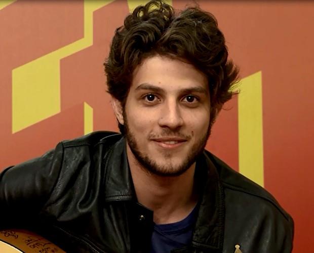 Chay Suede e seu cabelo estiloso (Foto: Esquenta! / TV Globo) - chaysuede_1