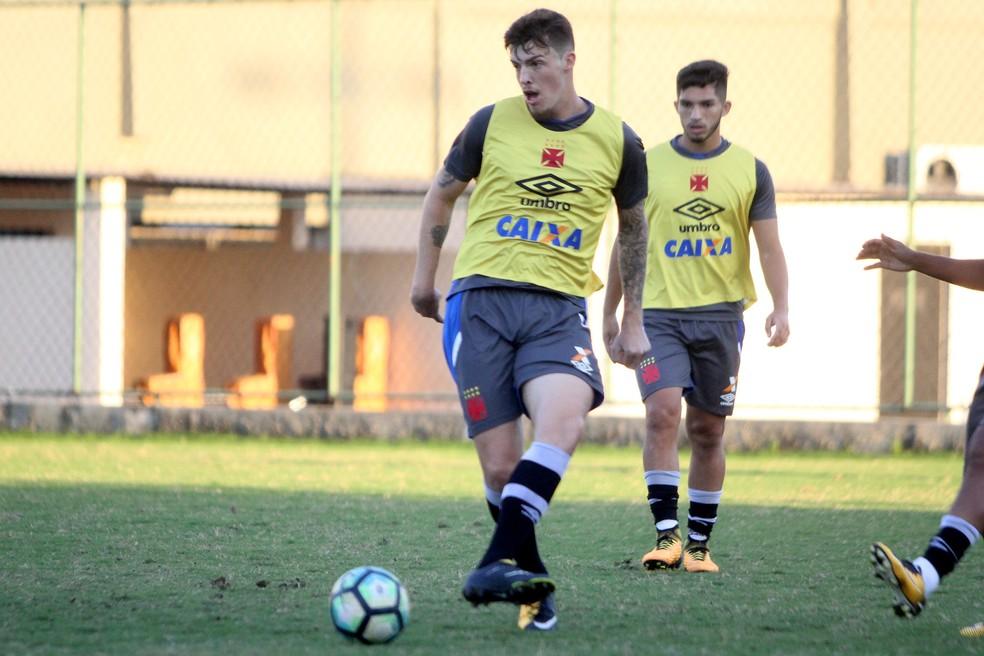 Bruno Paulista treinou nesta segunda-feira em São Januário (Foto: Paulo Fernandes/Vasco.com.br)