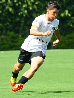 Osvaldo, Treino do São paulo (Foto: Luiz Pires / VIPCOMM)