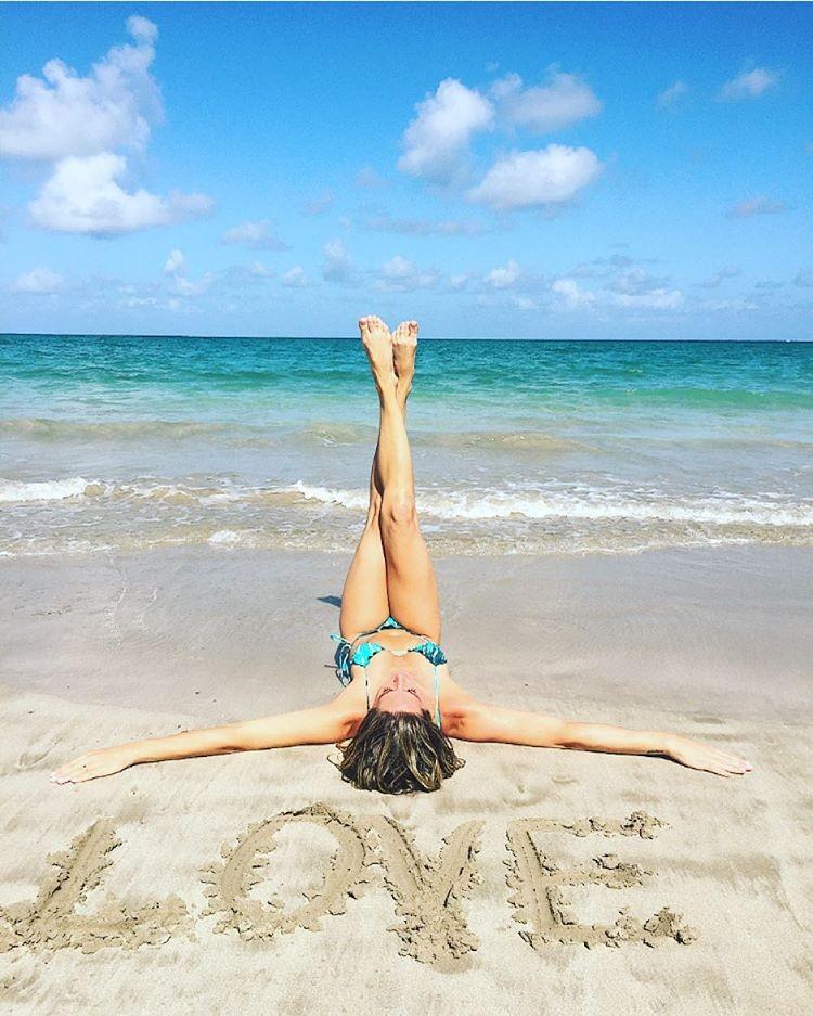 """""""Não quero mais ir embora daqui"""", disse Giovanna ao visitar a Praia dos Carneiros (Foto: Reprodução/ Instagram)"""