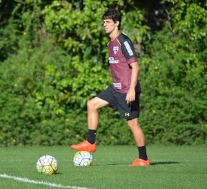Rodrigo Caio São Paulo (Foto: Ana Luiza Rosa/saopaulofc.net)