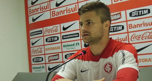 confiante (Tomás Hammes / GloboEsporte.com)