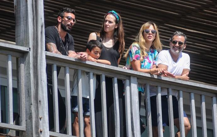 Lavezzi chega a Punta del Este oara aproveitar folga (Foto: AKM-GSI)
