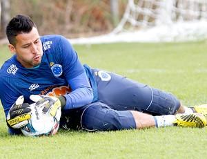 Fabio treino Cruzeiro (Foto: Washington Alves / Vipcomm)