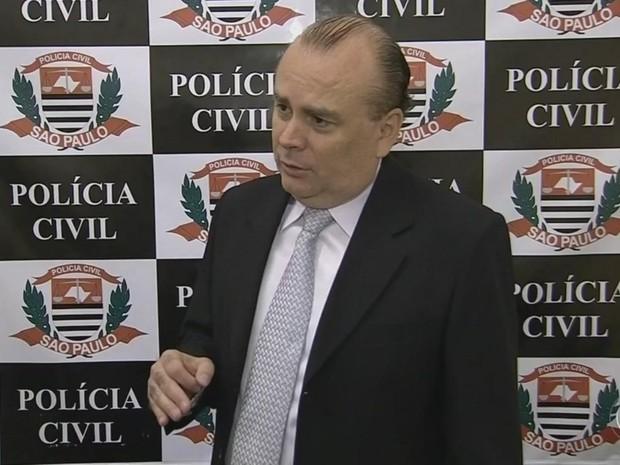 Delegado Agnaldo Ramos orienta a desligar telefone em casos semelhantes (Foto: Reprodução/ TV TEM)