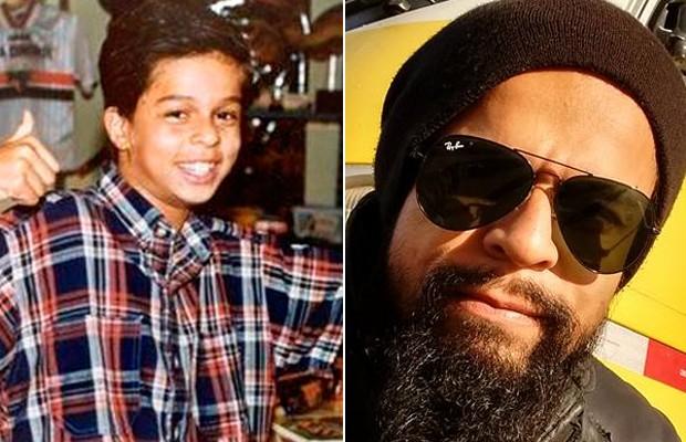 Antes e depois: Pierre Bittencourt (Foto: Reprodução)