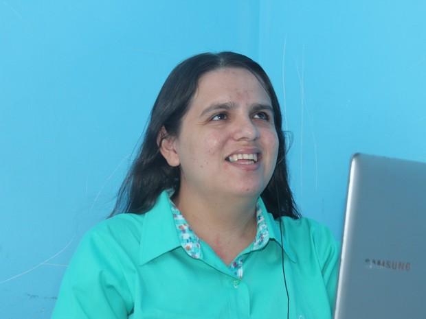 Rogéria Rodrigues saiu do sertão do Piauí para estudar (Foto: Gustavo Almeida/G1)