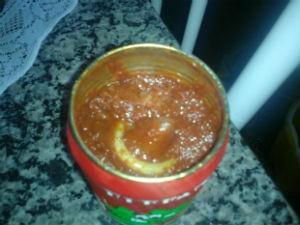 Mulher diz que já tinha consumido extrato de tomate (Foto: Arquivo pessoal)