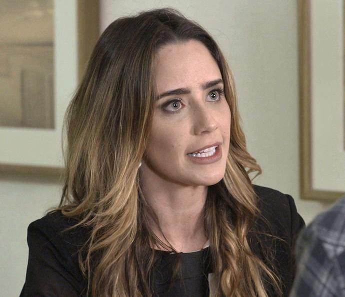 Bruna repreende Giovanni  (Foto: TV Globo)