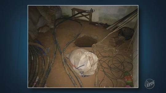 Polícia descobre túnel usado para desviar combustível da Petrobras, em Artur Nogueira