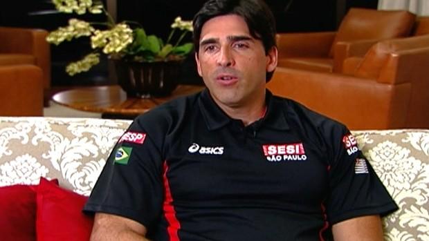 Giovane, ex-jogador de vôlei  (Foto: Reprodução/TV Globo)