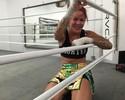 Cyborg mostra treino e revela desejo de lutar em Brasília no peso-casado