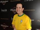 Famosos conferem partida entre Inglaterra e Uruguai em São Paulo