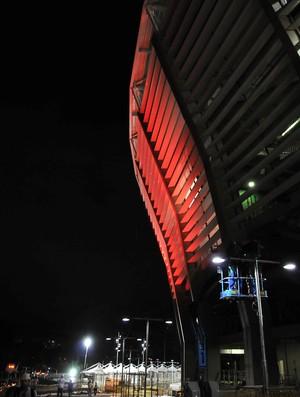 Teste de iluminação da Fonte Nova 18/02/2013 (Foto: Erik Salles BAPRESS / Arena Fonte Nova / Divulgação)