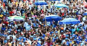 Blocos encerram folia no Rio (Marcelo Fonseca/G1)
