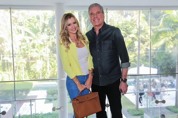 Roberto Justus e Ana Paula Siebert (Foto: Manuela Scarpa/Brazil News)