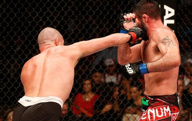 UFC: Matt Wiman x Isaac Vallie-Flag (Foto: Getty Images)