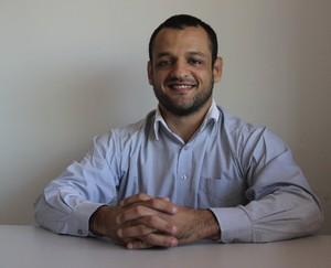 Leonardo Calid, presidente da FJJEAC (Foto: João Paulo Maia)
