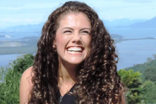 Liane é ex-BBB e participou do concurso para ser loira do Tchan (Foto: Géssica Valentini / RBS TV)